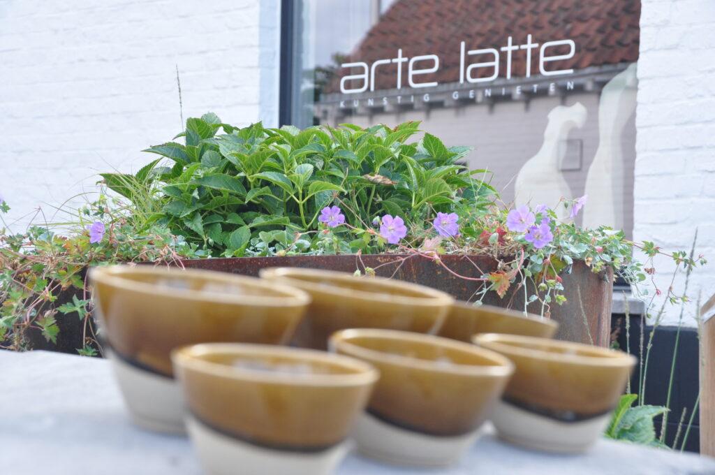 summer vibes bij arte latte